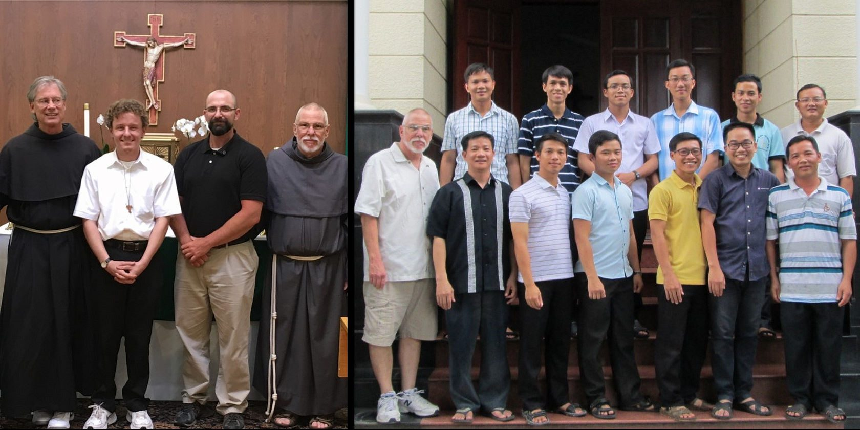 Our Postulants in the US and Vietnam