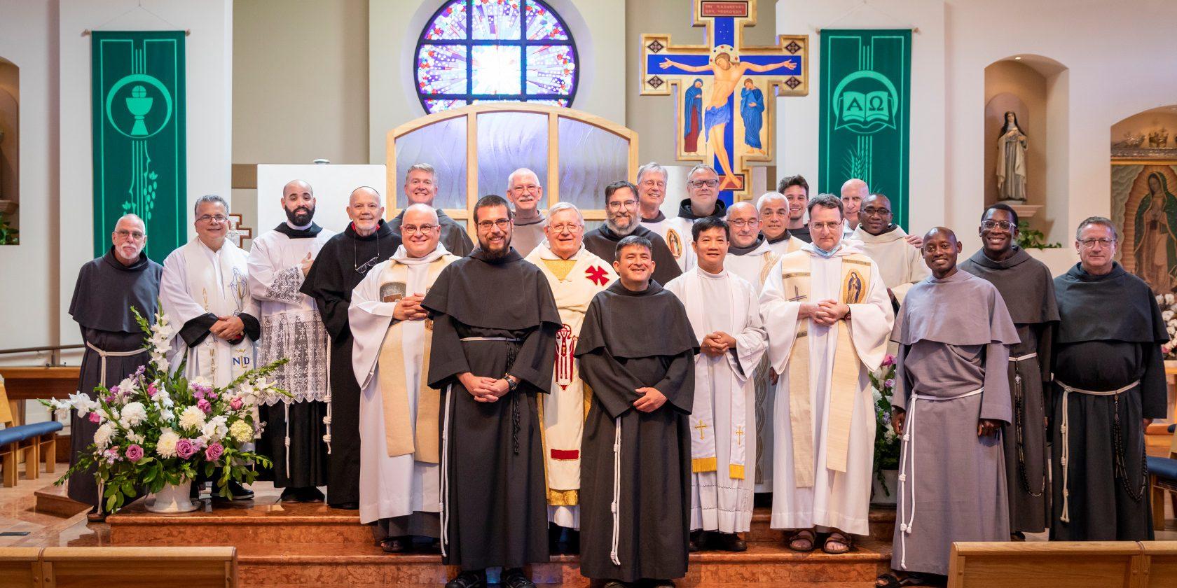 Saint Joseph of Cupertino Province Solemn Vows